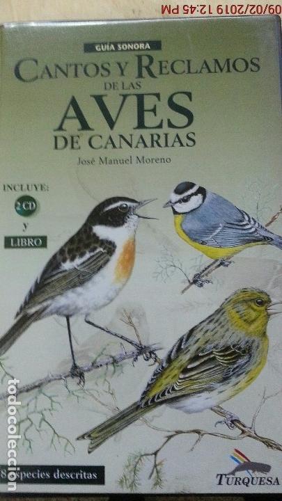 CANTOS Y RECLAMOS DE LAS AVES DE CANARIAS (Libros Nuevos - Ciencias, Manuales y Oficios - Biología)