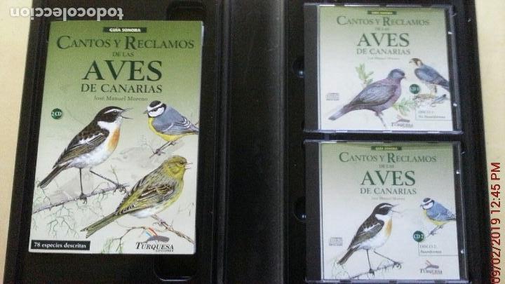 Libros: CANTOS Y RECLAMOS DE LAS AVES DE CANARIAS - Foto 2 - 139491386