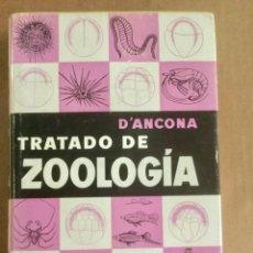 """Libros: TRATADO DE ZOOLOGÍA. TOMO I. """"D' ANCONA"""". LABOR.. Lote 151727358"""