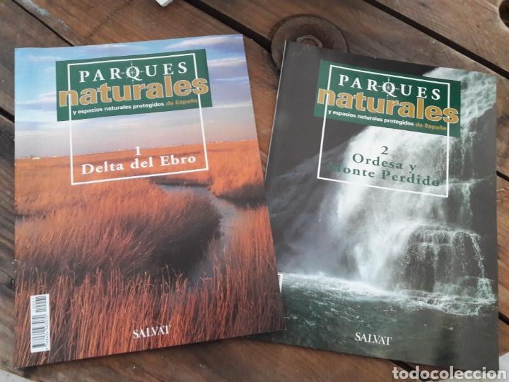 SALVAT PARQUES NATURALES 2 TOMOS. (Libros Nuevos - Ciencias, Manuales y Oficios - Biología)