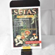 Libros: SETAS DE PRADOS Y BOSQUES. Lote 152924258