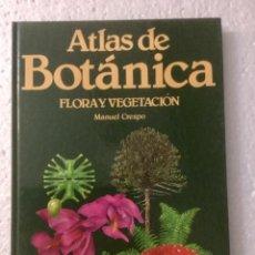 Libros: ATLAS DE BOTÁNICA (FLORA Y VEGETACIÓN). M. CRESPO. NUEVO. Lote 153698682