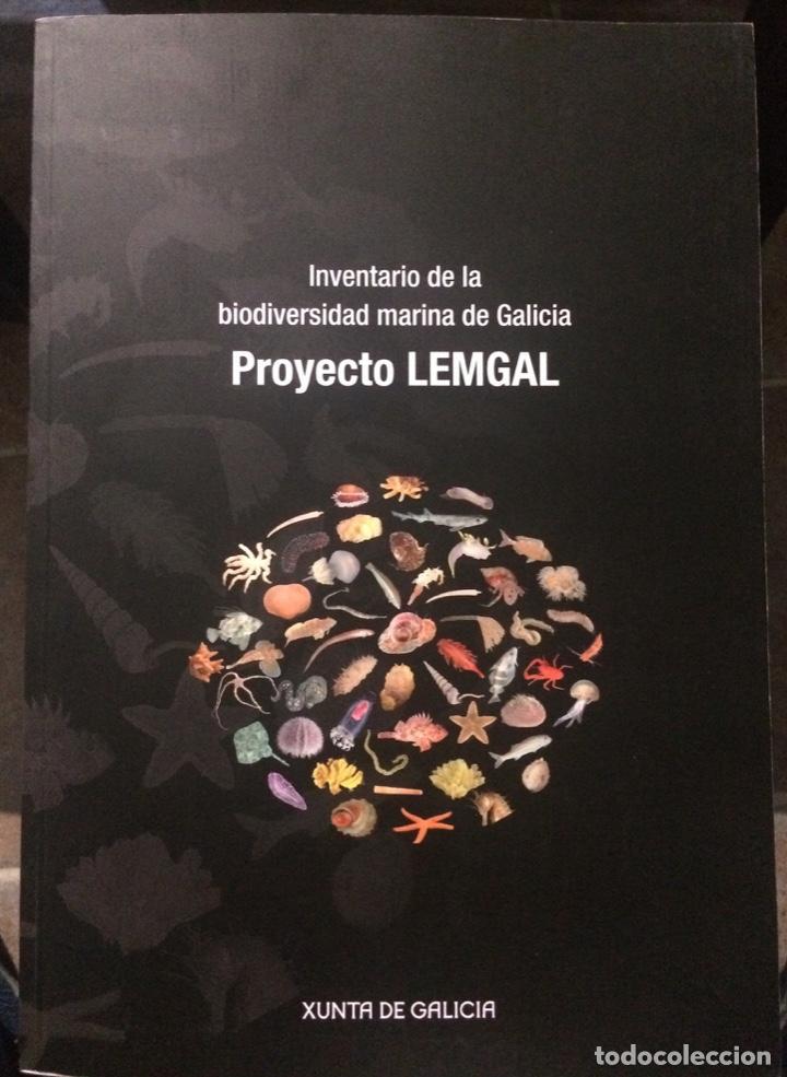 INVENTARIO DE LA BIODIVERSIDAD MARINA DE GALICIA. PROYECTO LEMGAL (New Books - Sciences, Manuals and Trades - Biology)