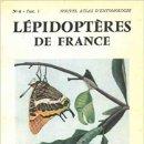 Libros: ATLAS DES LÉPIDOPTÈRES DE FRANCE, 1950, PERFECTO ESTADO.. Lote 156896394