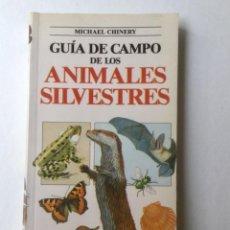 Libros: GUÍA DE CAMPO DE LOS ANIMALES SILVESTRES. BLUME. REF. F-30. Lote 161141442