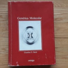 Libros: GENÉTICA MOLECULAR , GUNTHER S. STENT , OMEGA. Lote 171471912