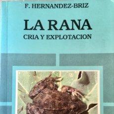 Libros: LA RANA. MUNDI PRENSA. NUEVO REF: F39. Lote 171578950