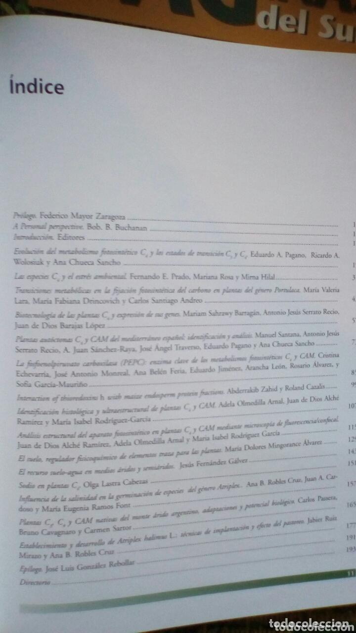 Libros: Plantas C4 y CAM de Zonas aridas y semiaridas + CD. CSIC - Foto 2 - 174170913