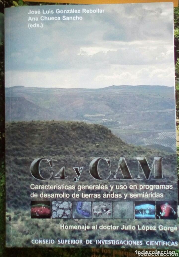 PLANTAS C4 Y CAM DE ZONAS ARIDAS Y SEMIARIDAS + CD. CSIC (Libros Nuevos - Ciencias, Manuales y Oficios - Biología)