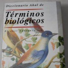 Libros: DICCIONARIO AKAL DE TÉRMINOS BIOLÓGICOS. LAWRENCE, ELEANOR. (ED). Lote 181328150