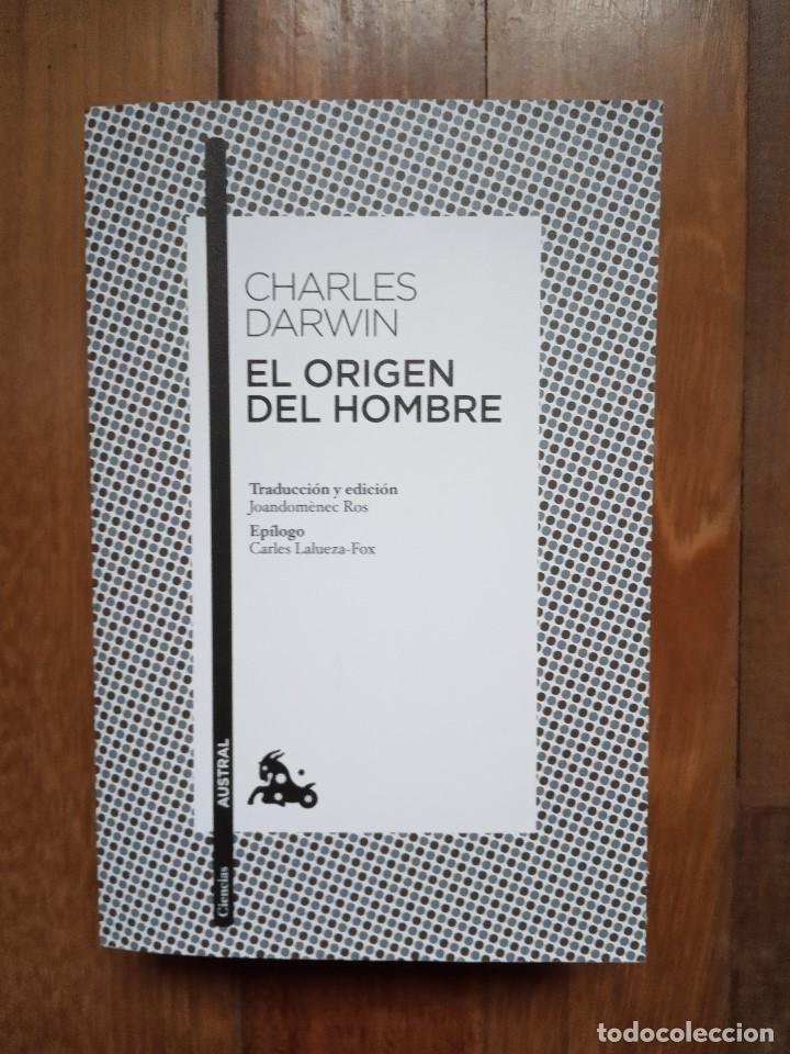 CHARLES DARWIN - EL ORIGEN DEL HOMBRE (Libros Nuevos - Ciencias, Manuales y Oficios - Biología)