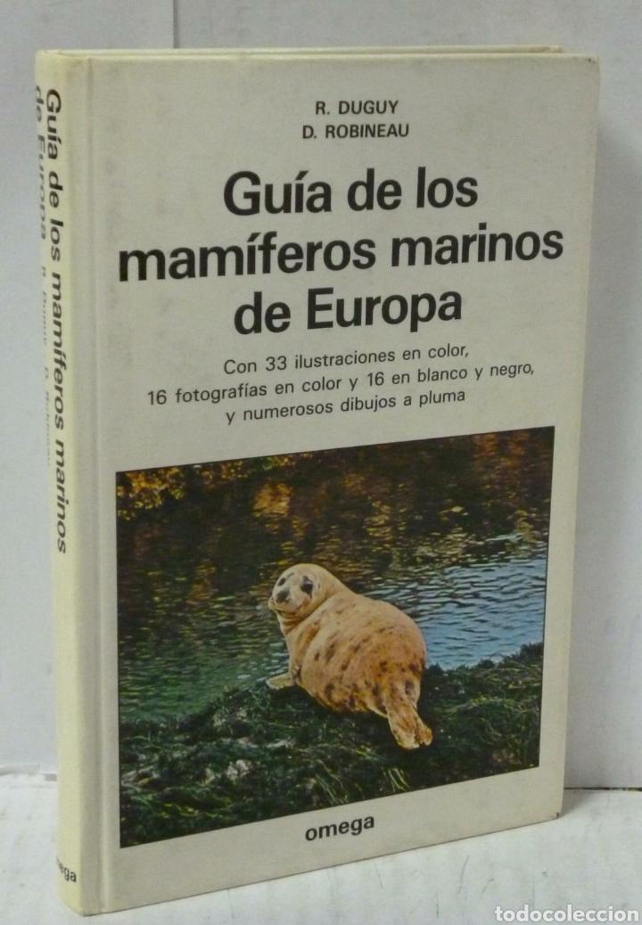 LIBRO GUIA DE LOS MAMIFEROS MARINOS DE EUROPA (Libros Nuevos - Ciencias, Manuales y Oficios - Biología)