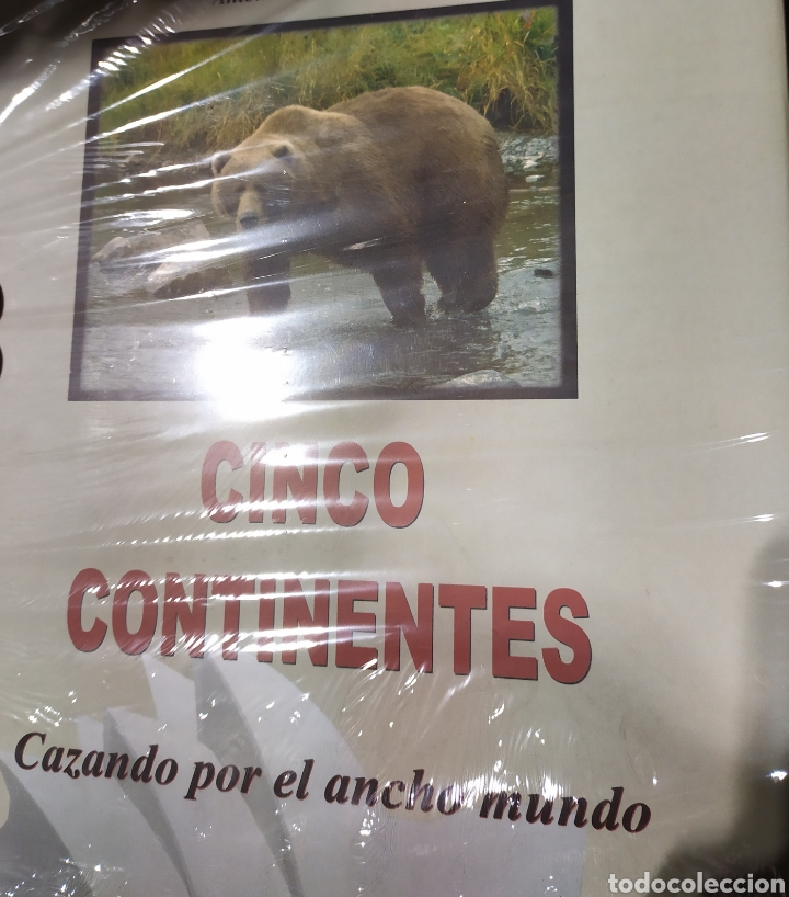 CINCO CONTINENTES. CAZANDO POR EL ANCHO MUNDO (Libros Nuevos - Ciencias, Manuales y Oficios - Biología)