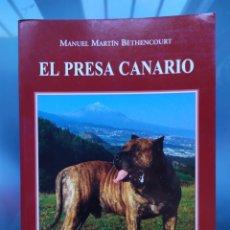 Libros: LIBRO EL PRESA CANARIO. Lote 189089833