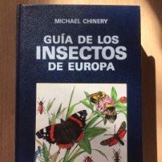 Libros: GUÍA DE LOS INSECTOS DE EUROPA. Lote 189244237