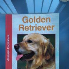 Libros: NUEVO LIBRO RAZA PERRO GOLDEN RETRIEVER. Lote 190228515