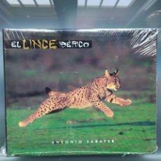 Libros: MUY RARO LIBRO EL LINCE IBÉRICO DE ANTONIO SABATER. Lote 186101412