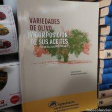 Libros: LIBRO VARIEDADES DEL OLIVO Y COMPOSICIÓN DE SUS ACEITES ISABEL LÓPEZ CORTÉS. Lote 194027826