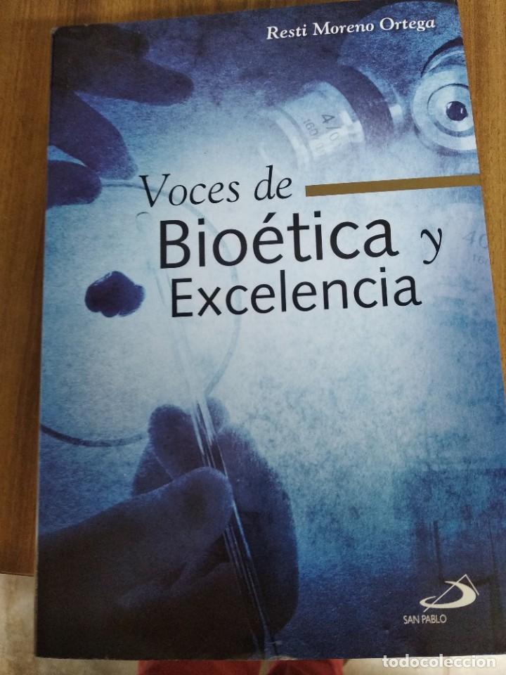 VOCES DE BIOETICA Y EXCELENCIA (Libros Nuevos - Ciencias, Manuales y Oficios - Biología)
