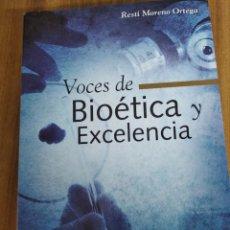 Libros: VOCES DE BIOETICA Y EXCELENCIA. Lote 194878480