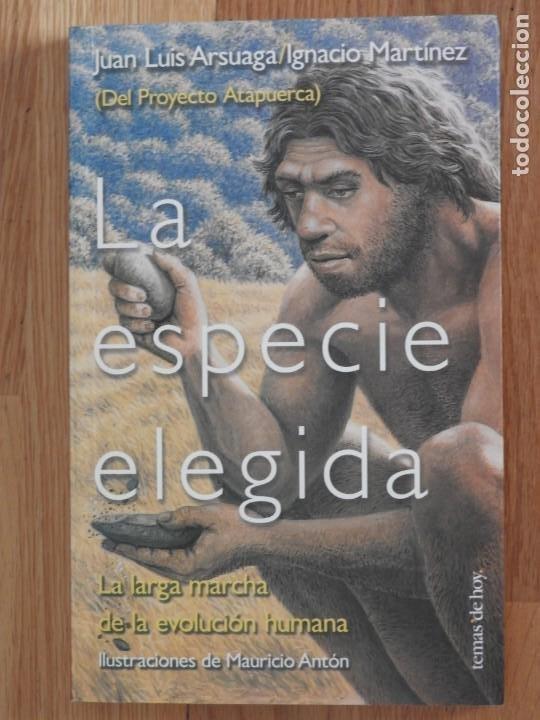 LA ESPECIE ELEGIDA 1998 JUAN LUIS ARSUAGA E IGNACIO MARTINEZ ATAPUERCA ANTROPOLOGIA (Libros Nuevos - Ciencias, Manuales y Oficios - Biología)