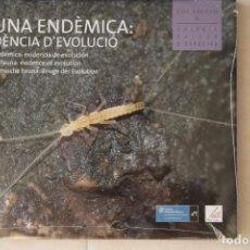Libros: FAUNA ENDÉMICA BALEARES. Lote 202990091