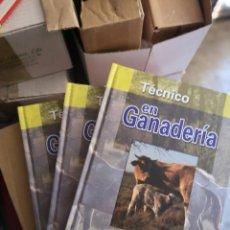 Libros: TECNICO EN GANADERÍA, 3 TOMOS. Lote 204618072
