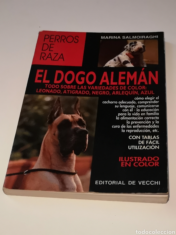EL DOGO ALEMÁN PERROS DE RAZA (Libros Nuevos - Ciencias, Manuales y Oficios - Biología)