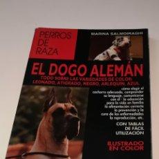 Libros: EL DOGO ALEMÁN PERROS DE RAZA. Lote 206940562