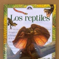 Libros: LOS REPTILES - GUÍA DEL ESTUDIANTE - GENIOS. Lote 211668670