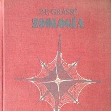 Libros: ZOOLOGÍA 1. INVERTEBRADOS. P.P. GRASSÉ.. Lote 273949468