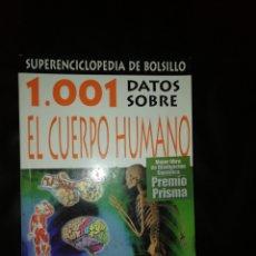 Libros: 1001 DATOS SOBRE EL CUERPO HUMANO. Lote 215079830