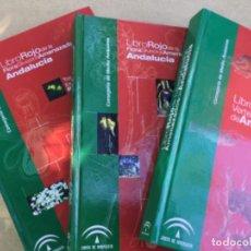 Libros: LIBRO ROJO DE LOS VERTEBRADOS AMENAZADOS EN ANDALUCÍA (2001). Lote 217090532