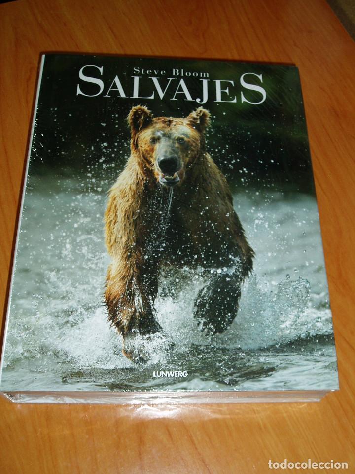 SALVAJES STEVE BLOOM NUEVO PRECINTADO - LIBRO ANIMALES FAUNA SALVAJE (Libros Nuevos - Ciencias, Manuales y Oficios - Biología)