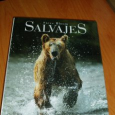 Libros: SALVAJES STEVE BLOOM NUEVO PRECINTADO - LIBRO ANIMALES FAUNA SALVAJE. Lote 217910056