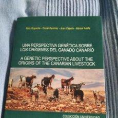 Libros: LIBRO LOS ORIGENES DEL GANADO CANARIO. Lote 218722870