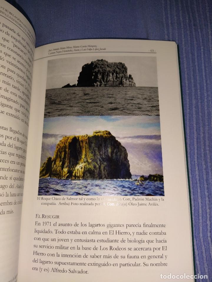 Libros: libro el lagarto gigante del Hierro y su relacion con los humanos - Foto 2 - 218739245