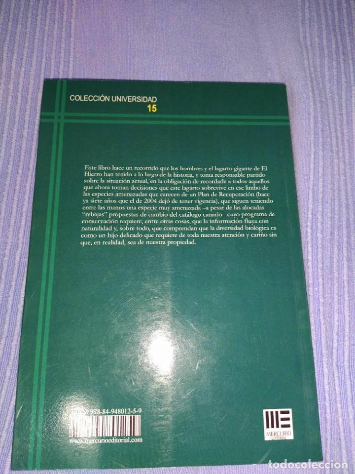 Libros: libro el lagarto gigante del Hierro y su relacion con los humanos - Foto 3 - 218739245