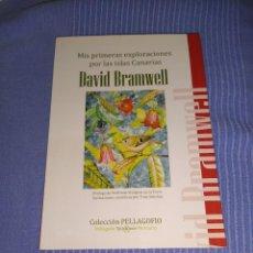 Libros: LIBRO MIS PRIMERAS EXPLORACIONES POR LAS ISLAS CANARIAS DE DAVID BRAMWELL. Lote 219433433