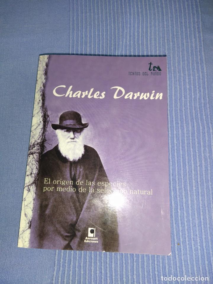 LIBRO DE CHARLES DARWIN EL ORIGEN DE LAS ESPECIES POR MEDIO DE LA SELECCION NATURAL (Libros Nuevos - Ciencias, Manuales y Oficios - Biología)