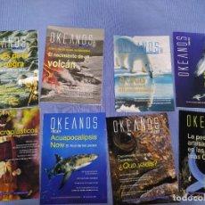 Libros: LOTE DE 8 REVISTAS OKEANOS (REVISTAS DE LA 1 A LA 8). Lote 219438815