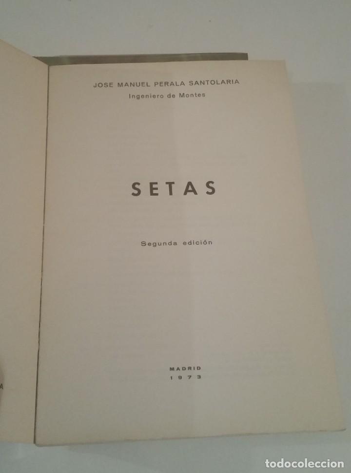 SETAS. JOSÉ MANUEL PERALA SANTOLARIA. (Libros Nuevos - Ciencias, Manuales y Oficios - Biología)