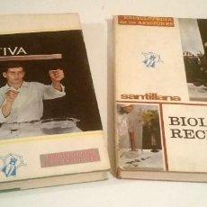 Libros: FÍSICA Y BIOLOGÍAS RECREATIVAS. SANTILLANA.. Lote 223988297