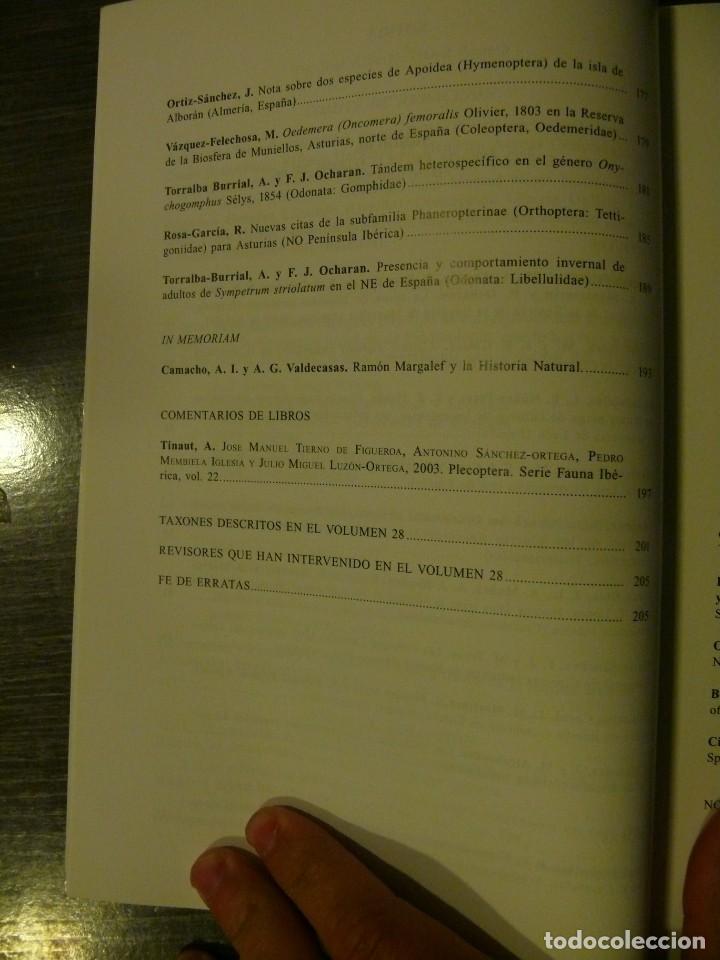 Libros: Boletín de la Asociación Española de Entomología año 2004 volumen 28 (3-4) - Foto 3 - 224756143