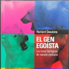 Libros: EL GEN EGOÍSTA _ RICHARD DAWKINS _ SALVAT CIENCIA. Lote 226398615