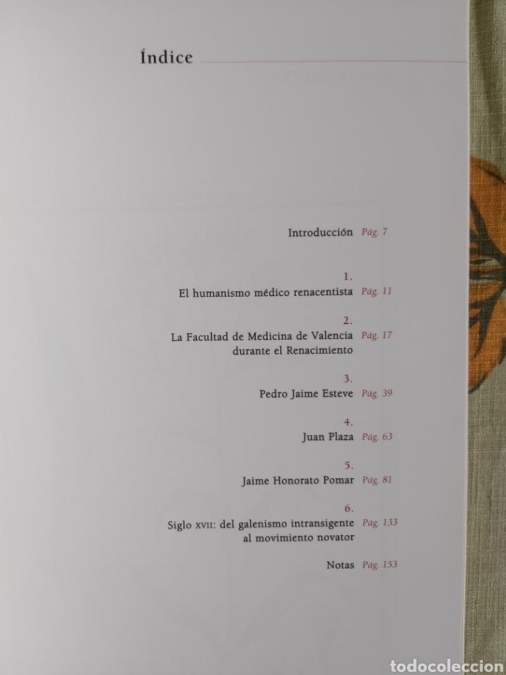 Libros: LA ESCUELA BOTÁNICA VALENCIANA DEL RENACIMIENTO. NUEVO! ED. 2010 - Foto 3 - 229348390