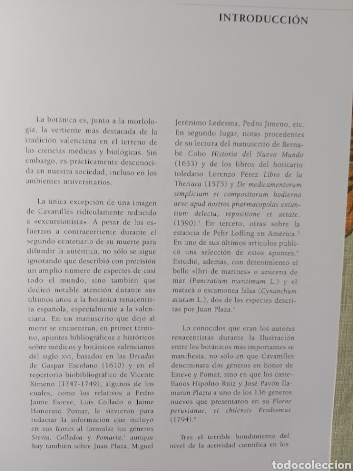 Libros: LA ESCUELA BOTÁNICA VALENCIANA DEL RENACIMIENTO. NUEVO! ED. 2010 - Foto 4 - 229348390