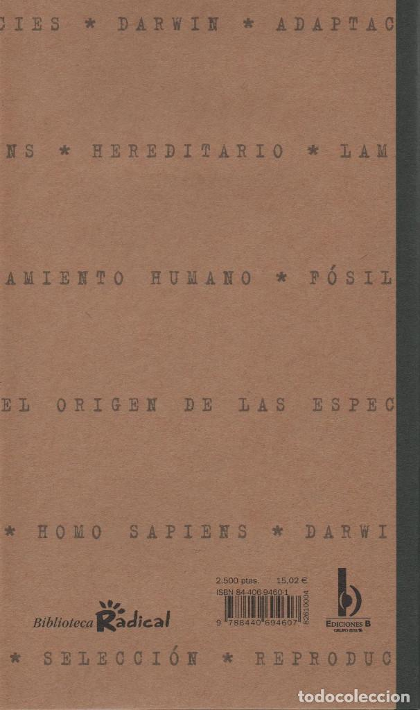 Libros: ¿Qué sabes de la evolución?David Burne.Ediciones B.1ªEdición.2000.NUEVO. - Foto 2 - 234643045