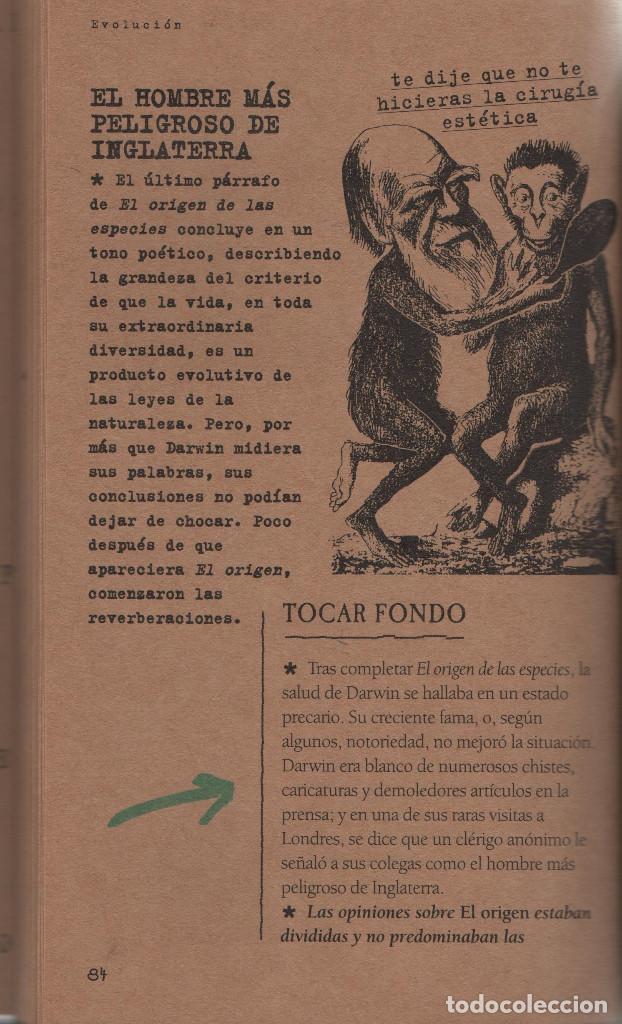 Libros: ¿Qué sabes de la evolución?David Burne.Ediciones B.1ªEdición.2000.NUEVO. - Foto 3 - 234643045