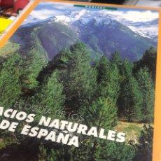 Libros: HABITAT ECOGUIA DE LOS ESPACIOS NATURALES DE ESPAÑA. Lote 235689470